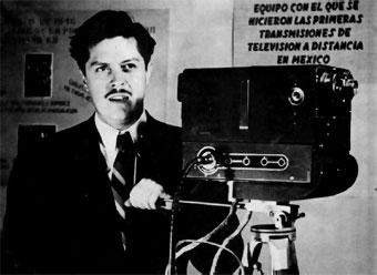 Guillermo Gonzales Camarena inventor television a color