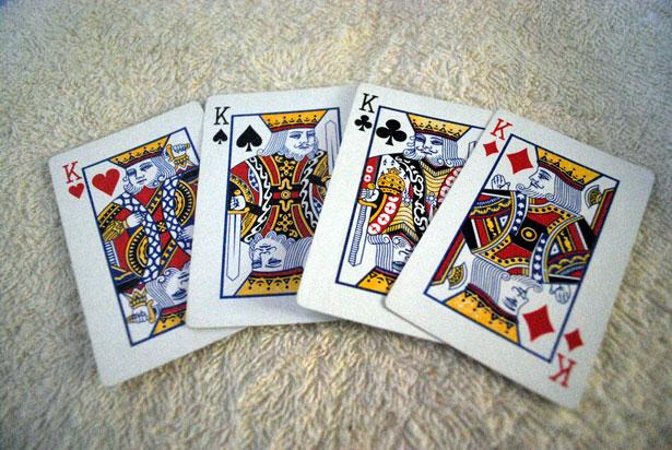 Quienes son los cuatro reyes de las barajas