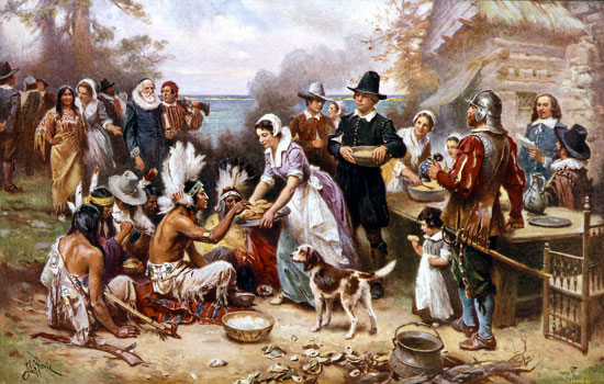 Origen de Thanksgiving