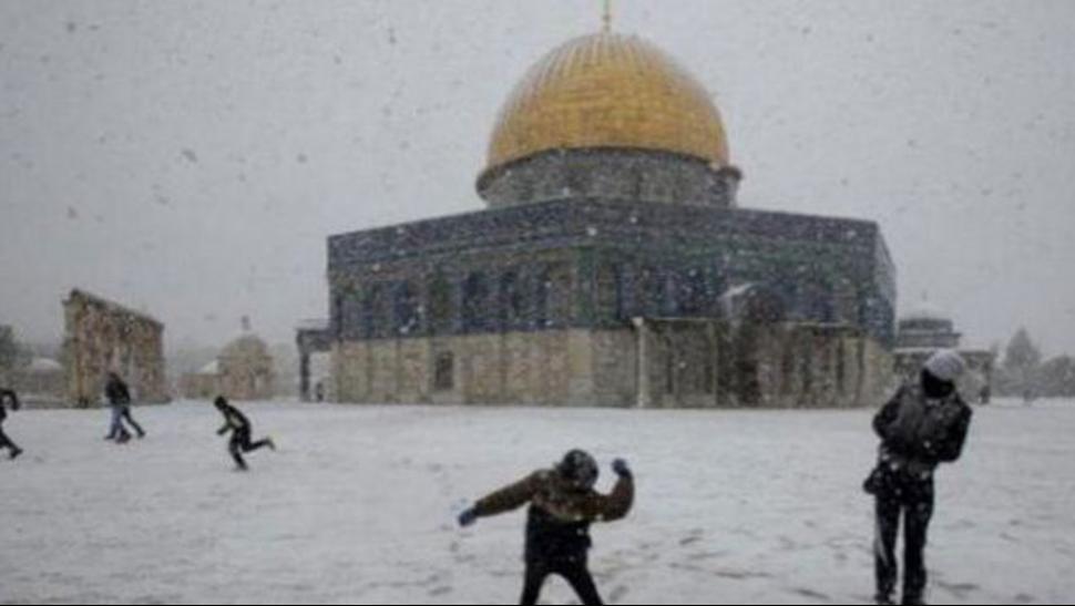 Nieve en egipto