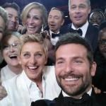 El Selfie de los Oscars implantó nuevo record de Retweets