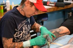 Tintas para tatuajes