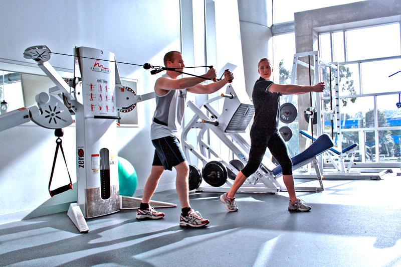 Maquinas de ejercicios