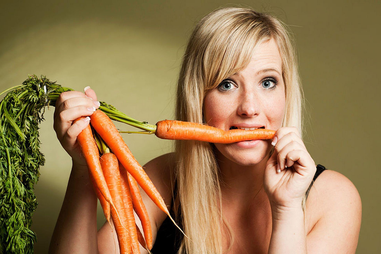 Zanahorias mejoran la vision