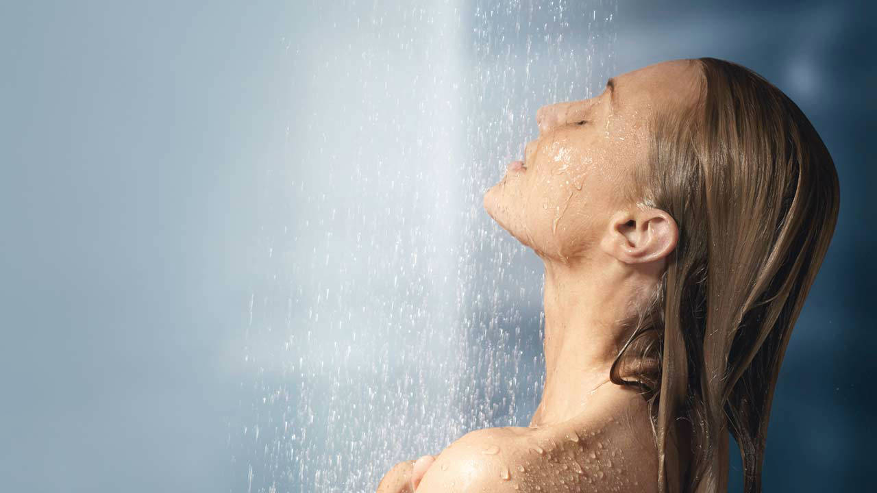 Bañarse con agua fria