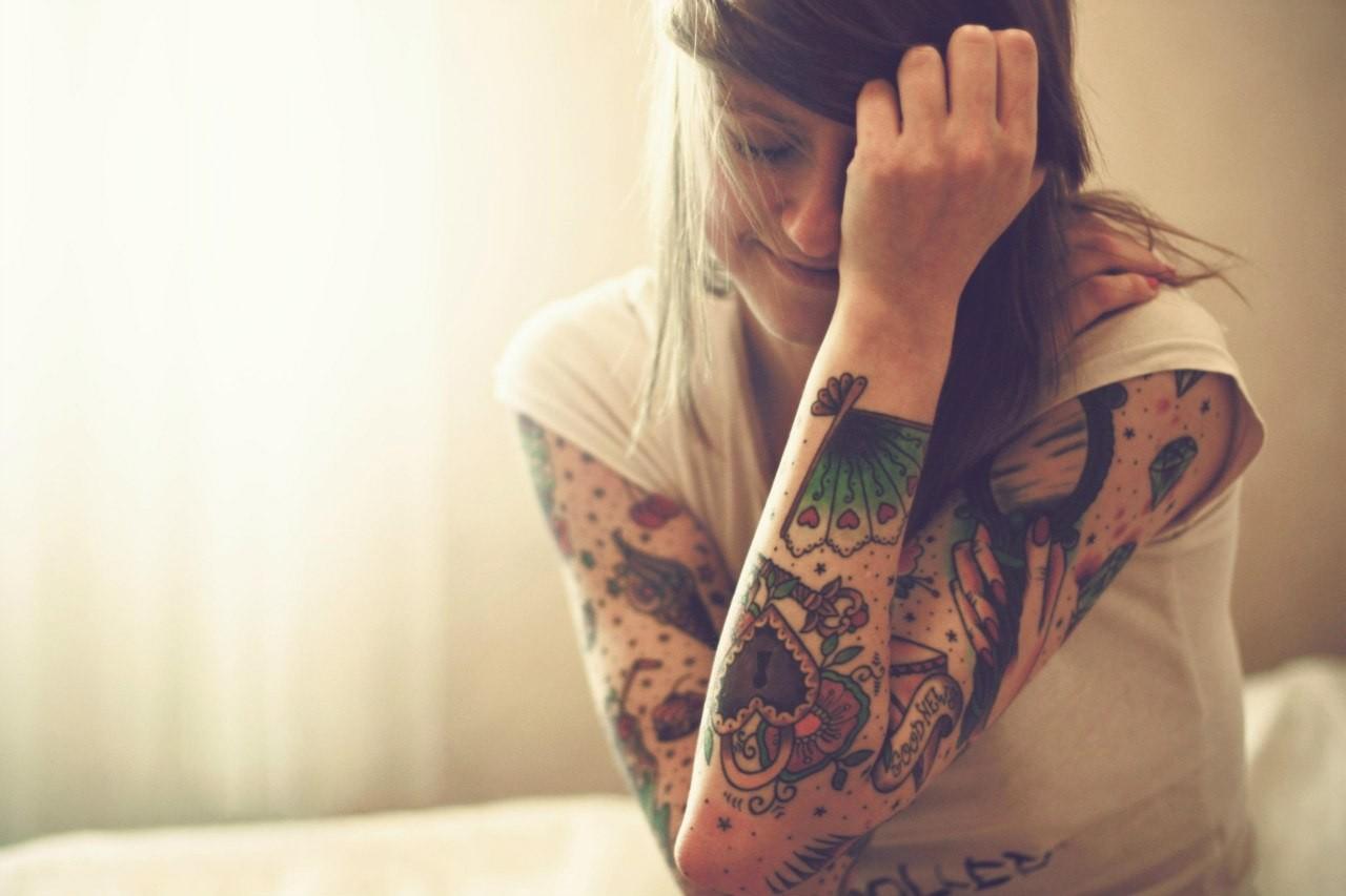 Mejores lugares para una mujer tatuarse