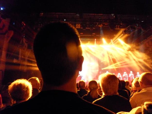 Mujeres bajitas concierto