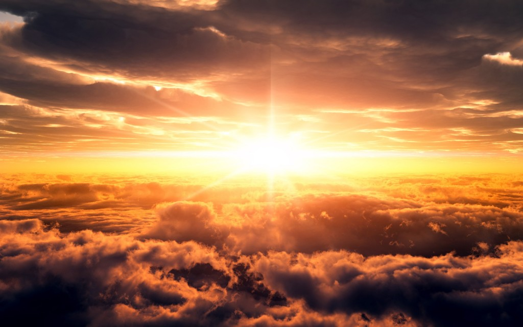 Por que vemos el sol amarillo