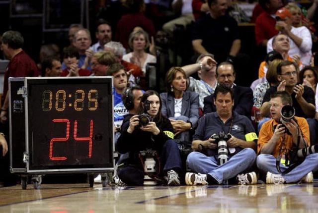 reloj de 24 segundos