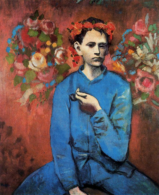 Boy with a Pipe (1905 - Pablo Picasso)