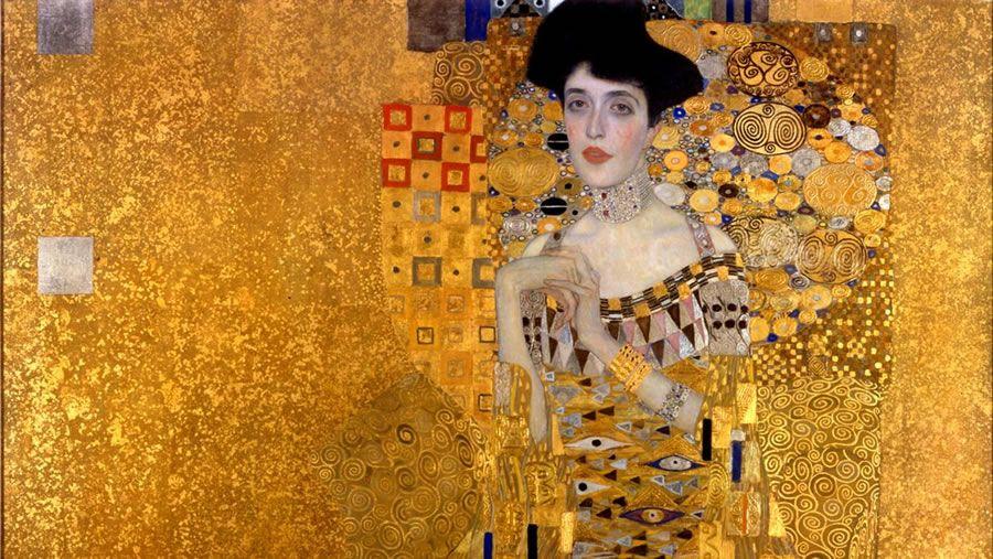 Gustav Klimt – Portrait of Adele Bloch-Bauer