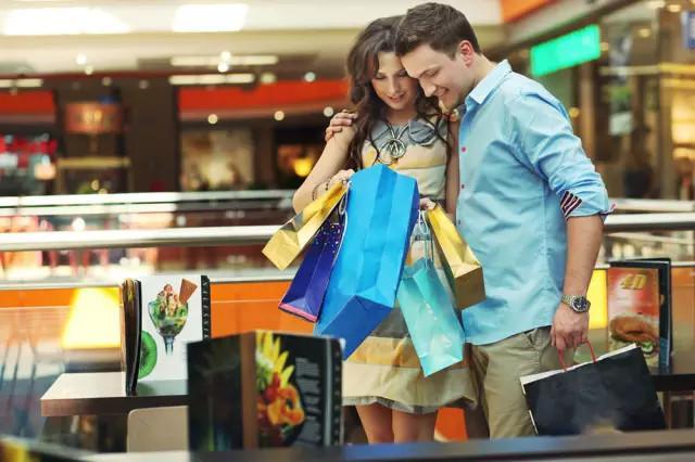Ir de compras en pareja
