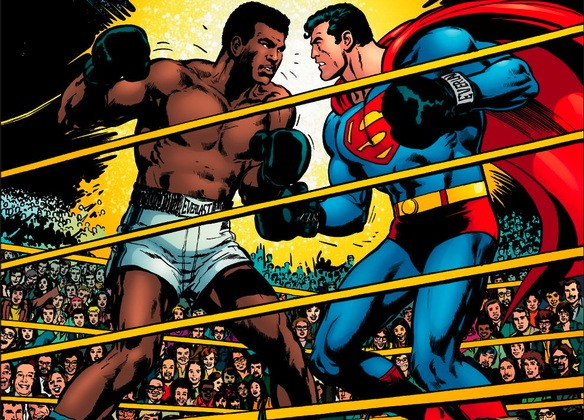 Muhammad Ali vs Superman