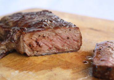 Carne bien cocida